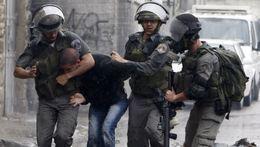 اعتقال فلسطيني في مواجهات مع الاحتلال بنابلس