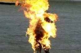 ابن يشعل النيران فى أسرته للمطالبة بسبب المصروف بالشرقية