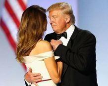 """بالفيديو.. رقصة مثيرة لـ""""ترامب وزوجته"""""""