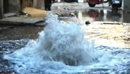 انفجار أنبوبة كلور داخل محطة مياه ببنها