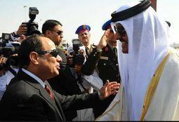 """السيسي وتميم.. """"تخابر مع قطر"""""""