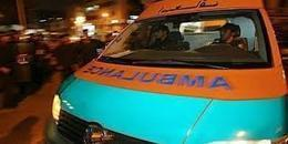 مصرع وإصابة 5 أشخاص إثر انفجار دانة حرب بوادى النطرون