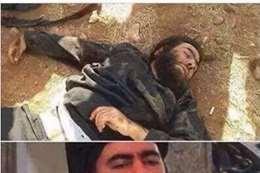 صورة أبو بكر وهو قتيلًا