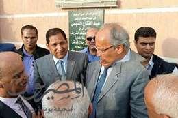 وزير التنميه المحلية فى محافظة الغربية