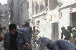 غارة للنظام تقتل شخصين في ريف دمشق
