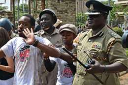 الشرطة الكينية أرشيفية