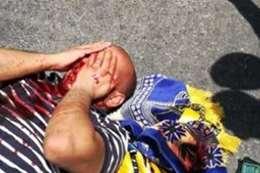 اصابة فلسطينى برصاص الاحتلال