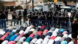شاهد بالصور..  اعتداءات إسرائيل علي المسجد الأقصي