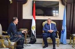 صورة محافظ البحر الأحمر مع سفير ارمينيا