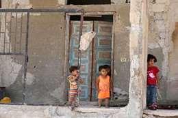 اطفال من الغوطة ارشيفية