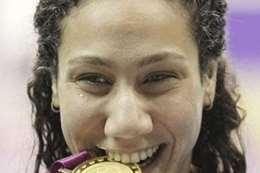 السباحة العالمية فريدة هشام عثمان