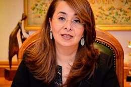 وزيرة التضامن الاجتماعي غادة والى