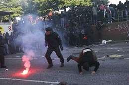احتجاجات فى ألمانيا
