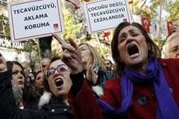 اغتصاب سورية يهز تركيا