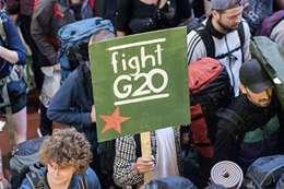 احتجاجات قمة العشرين