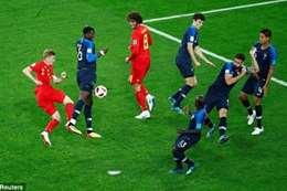 فوز فرنسا على بلجيكا
