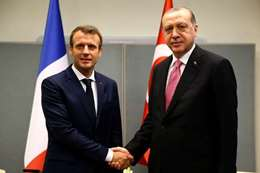 اردوغان وماكرون