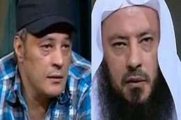 الفنان عمرو عبدالجليل وشقيقه