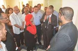 افتتاح مركز لمراة بالمنيا