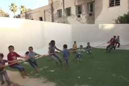 أطفال داعش داخل الهلال الأحمر بمصراته