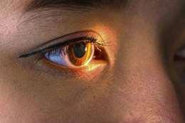 الاصابة بالعمي