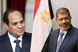 محمد مرسي وعبدالفتاح السيسي