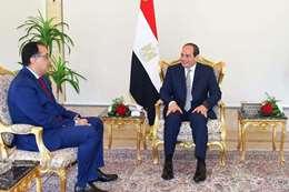 الرئيس مع رئيس الوزراء