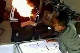 انفجار جوال