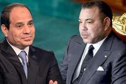 ملك المغرب والسيسي