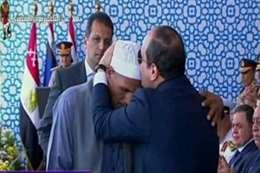 الحج محمد عبد العظيم، والد الشهيد رقيب أحمد محمد عبد العظيم