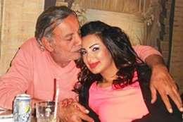 صفاء مغربي وزوجها