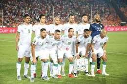 تشكيل منتخب الجزائر