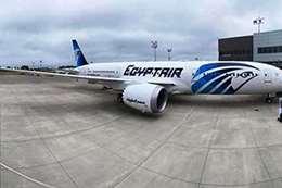 """مصر تستقبل الطائرة الخامسة طراز """"الدريملاينر"""""""