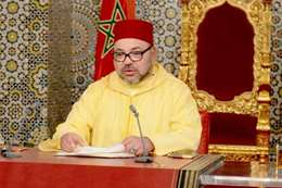 الملك محمد السادس العاهل المغربي