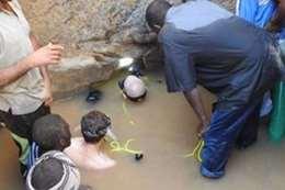 مقبرة فرعونية تحت الماء في السودان