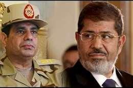 الرئيس السيسي و الراحل محمد مرسي