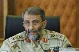 """قائد الحرس الثوري الإيراني العميد """" علي حاج حسين """""""