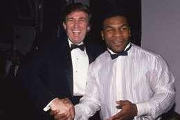 أسطورة الملاكمة، الأمريكي مايك تايسون والرئيس الحالي دونالد ترامب