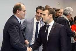 الرئيس الفرنسي و رئيس الوزراء الجديد