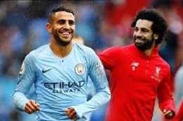 صلاح ومحرز ضمن قائمة أغلى 10 لاعبين بأفريقيا