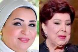 زوجة الرئيس تنعى رجاء الجداوي بكلمات مؤثرة