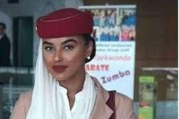 المضيفة البريطانية العاملة في طيران الامارات