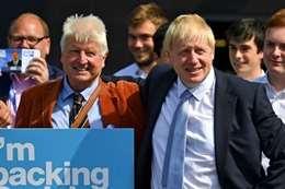 رئيس وزراء بريطانيا بوريس جونسون فى اليونان