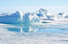 ذوبان جليد القطب الشمالى