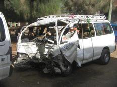 حوادث الطرق تقتل 2 من أسرة واحدة ببركة