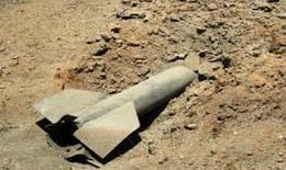 العثور على قذيفة طائرات بموقع حفر القناة الجانبية