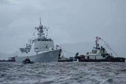 الصين تفتتح أول قاعدة عسكرية