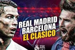 ريال مدريد وبرسلونة