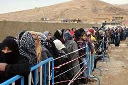 لاجئوا سوريا