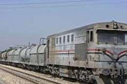 تعطل قطار كفر الشيخ